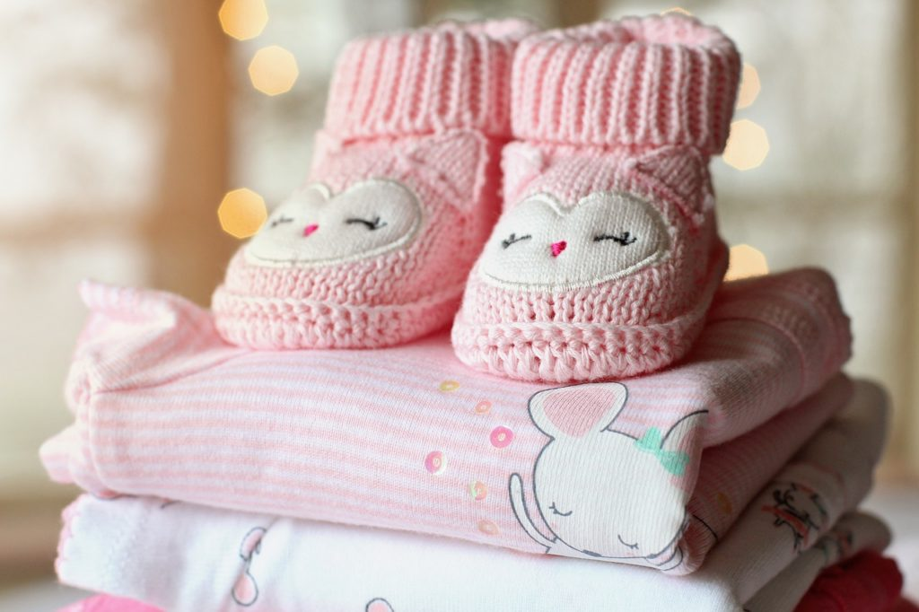 Baby clothes, baby shoes