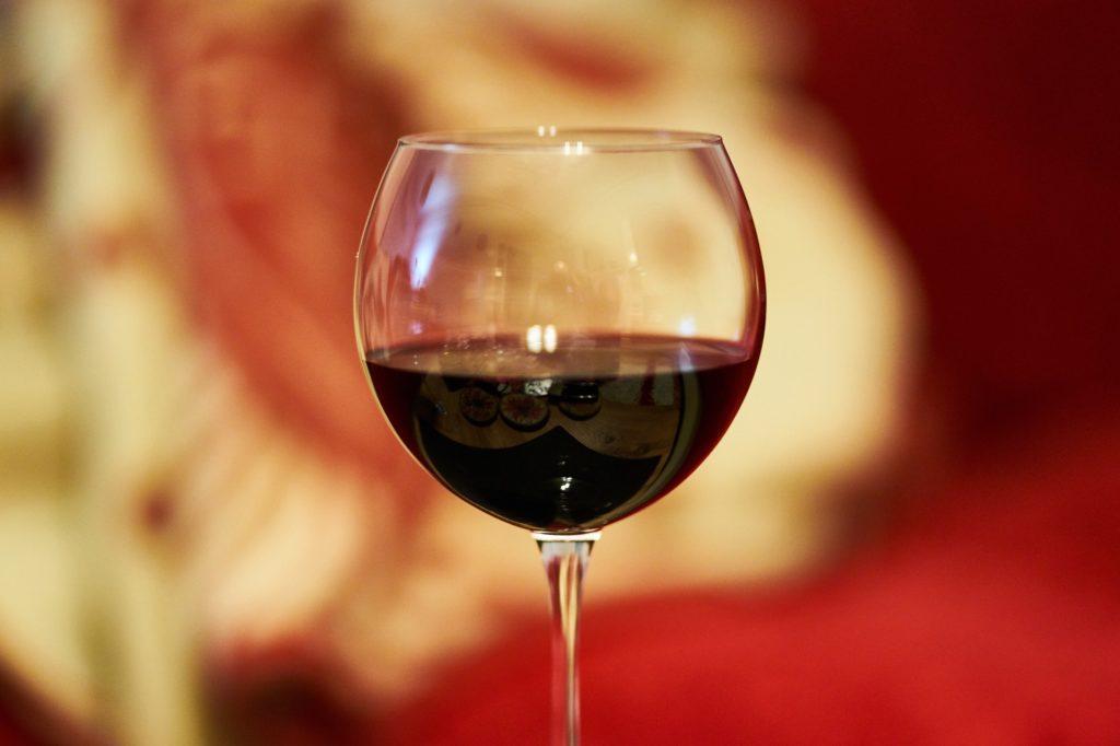 Wine glass, red wine, red, wine