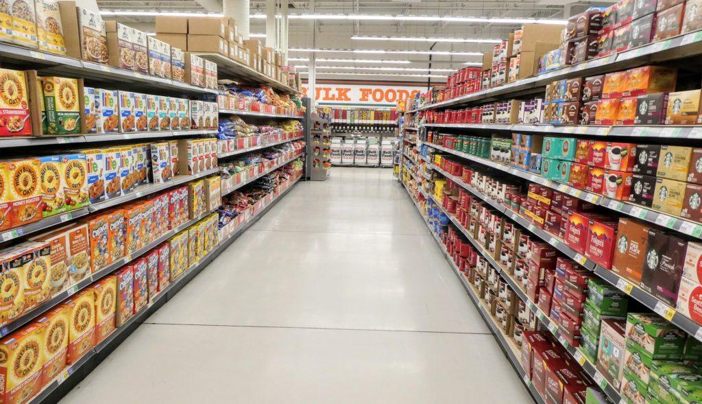 Supermarket, food, cereal, market, store