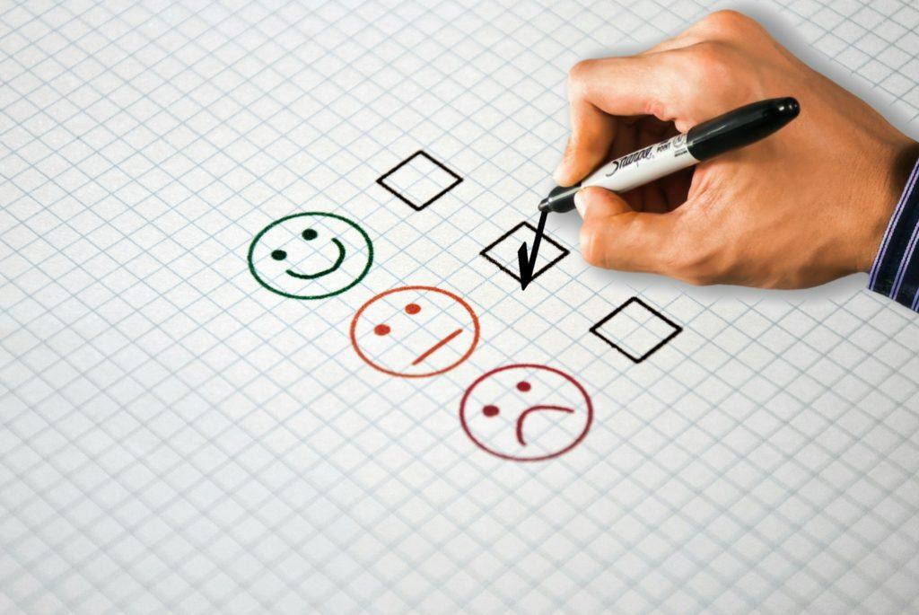 Survey, grading, sharpie, boxes, emotes