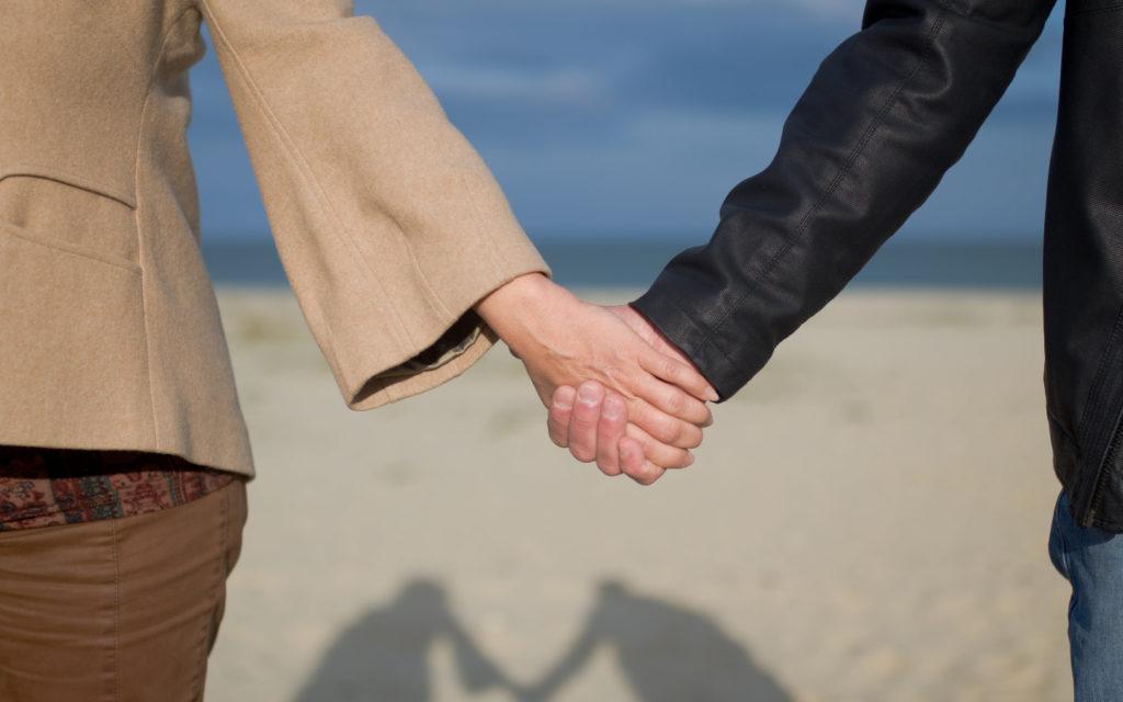 Hands, holding hands, couple, beach