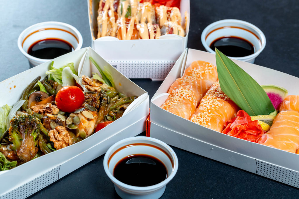 ginger, sauce, fish, roll, portion, Broccoli, wasabi, Healthy, Diet, japanese, pickled, MUSHROOM, contemporary, Menu, catering, soy, traditional, vegetable, asian, seafood, walnut