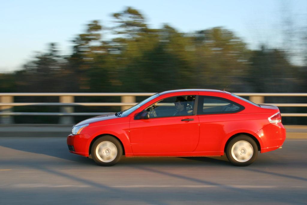 Car, moving car, road, tarmac, driving