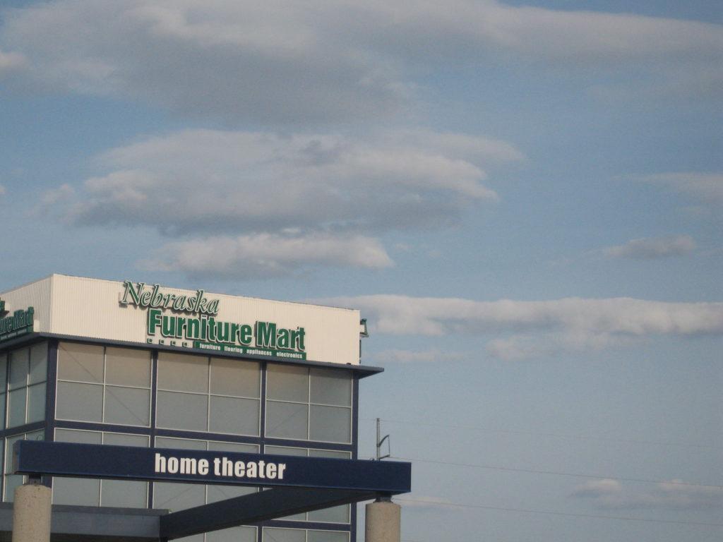 Furniture, furniture store, furniture mart, nebraska, sky, clouds